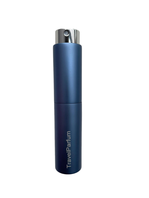 luxe parfum reisflacon blauw